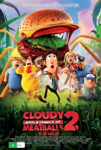 Cloudy With A Chance Of Meatballs 2 New Poster