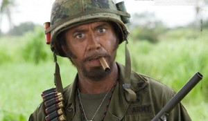 Robert Downey Jnr Tropic Thunder