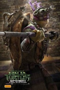 Tenage Mutant Ninja Turtles Character Poster 1