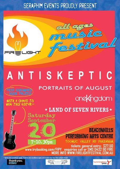 Firelight Festival Poster