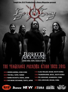 Eye Of The Enemy Asian Tour