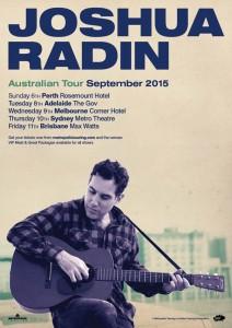 Joshua Radin Tour