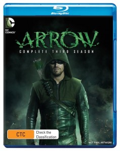 Arrow S3 BD Artwork