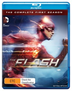 The Flash S1 BD Artwork