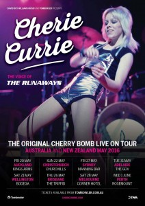 Cherrie Currie Tour Poster