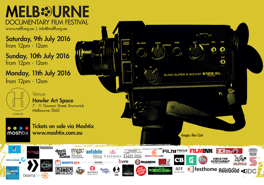 Melbourne Documentary Film Festival Poster