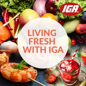 2UE Living Fresh With IGA