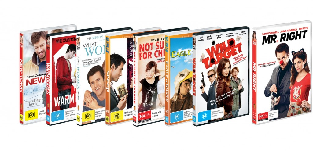 Mr RightDVD prize pack