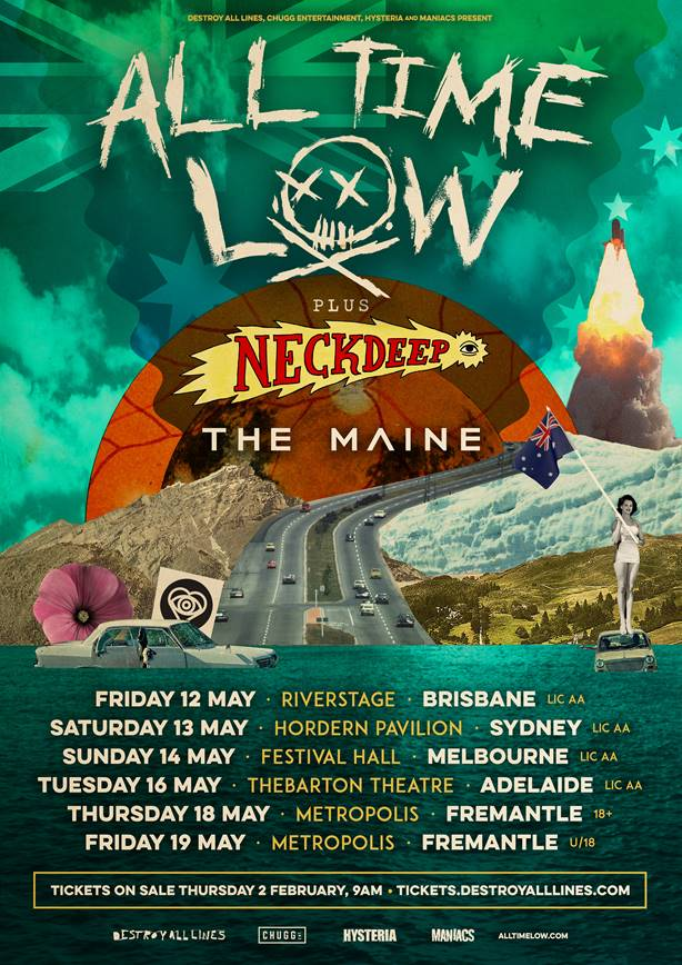 Neck Deep Tour Info