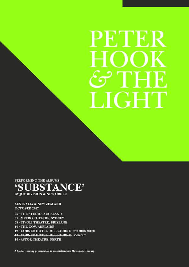Peter Hook & The Light Tour