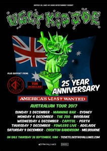 Ugly Kid Joe Tour
