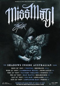 Miss May I Tour